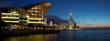 Panorama view of Hong Kong cityscape