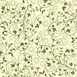 roleta: Floral pattern, vector