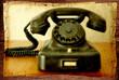 altes bakelittelefon