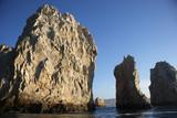 rocks in Cabo San Lucas in Baja California Sur in Mexico poster