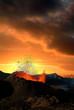 Leinwandbild Motiv éruption volcanique