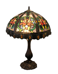 Ornate Glass Lampshade