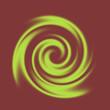 Spirale grün