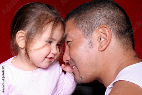 Loving Father and Daughter