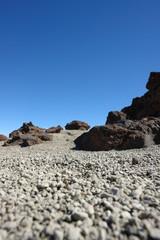 rocas volcanicas del Teide
