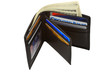 Wallet with money and credit cards