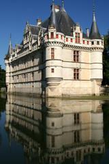 Azay-le-Rideau Castle, Loire Valley, France