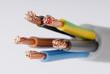 Leinwanddruck Bild - Kabel