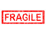 Office Stamp - FRAGILE poster
