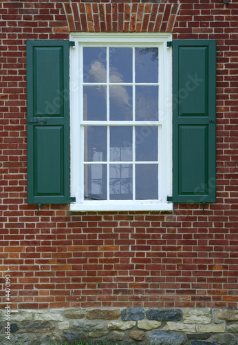 Farmhouse Window Poster