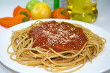 Whole Wheat Pasta and Tomato Sauce