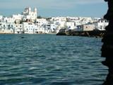 Port et ville de Grèce poster