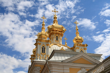 Golden church
