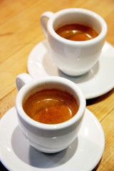 Two Espresso Shots