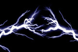Electrical sparks poster