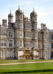 Facade Burghley House
