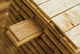 wood parquet piece poster