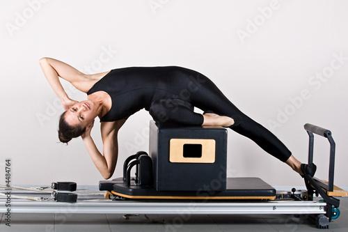 Foto op Plexiglas Fitness Gymnastics pilates
