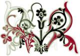 décor floral poster