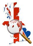 Analyse du Royaume Unis Union Jack (général) poster
