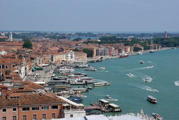 Venedig - Canale Grande - Boote