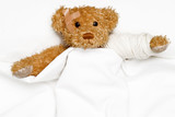 Teddy Bear as a patient poster