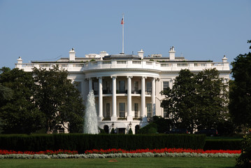 White House in Washington DC on Pennsylvania Ave