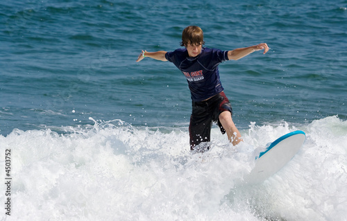 Teenage Surfer