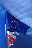 Flag of European Union poster