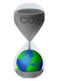 Emissions de CO2 : urgence pour la terre poster