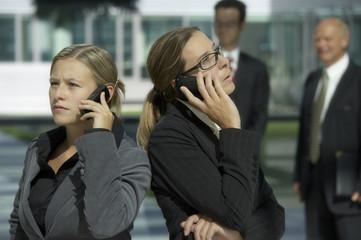 businesswomen on the phone