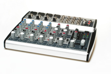 Studio equipment for recording songs
