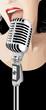 Jazz Singer (vector)