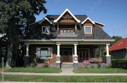 Foto op Canvas Canada Single family home