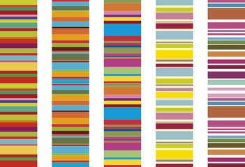 colorful stripes, pattern design
