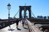 Brooklyn Bridge Joggers enjoying the morning