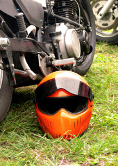 Mean Biker Helmet