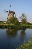 moulin à vent en Hollande poster