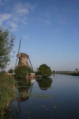 canal et moulin