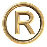 Registered trademark poster
