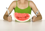 Watermelon hungry poster