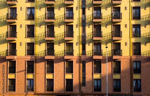 balconies and windows