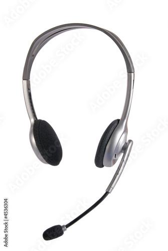 poster of A pair of multi-media computer headphones