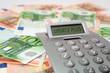 Bargeld, Banknoten mit Taschenrechner