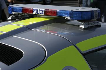 police sportscar siren