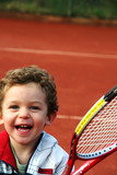 Fototapety tennis boy