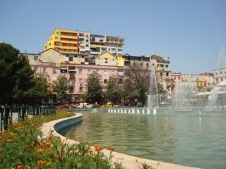 Tirana, capitale d Albanie