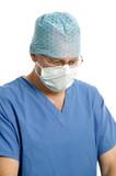 Surgeon at work poster