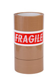 Tower of packing and fragile tape poster