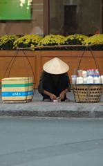 vendedor callejero